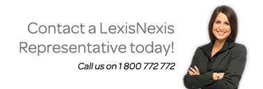Contact a LexisNexis Representative