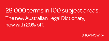 Australian Legal Dictionary