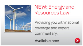 Energy and Resources Law