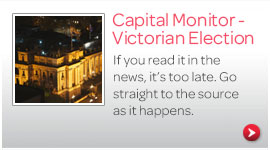 Capital Monitor - Victorian Election