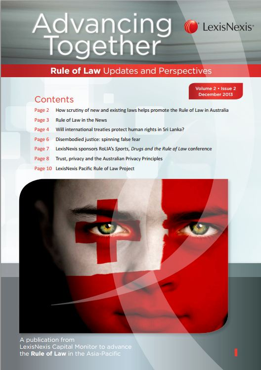 Rule of Law - December 2013 | LexisNexis Asia-Pacific