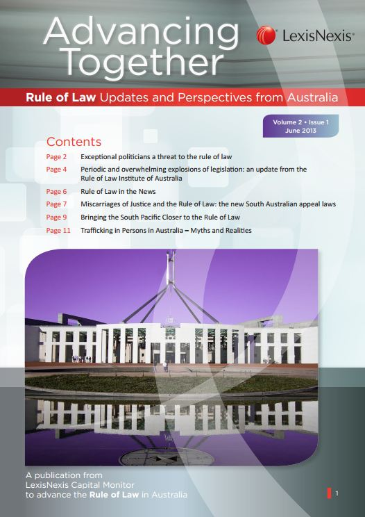 Rule of Law - June 2013 | LexisNexis Asia-Pacific