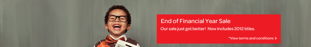End of Financial Year Sale 2013