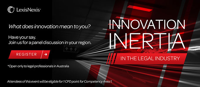 Innovation Inertia in the Legal Industry